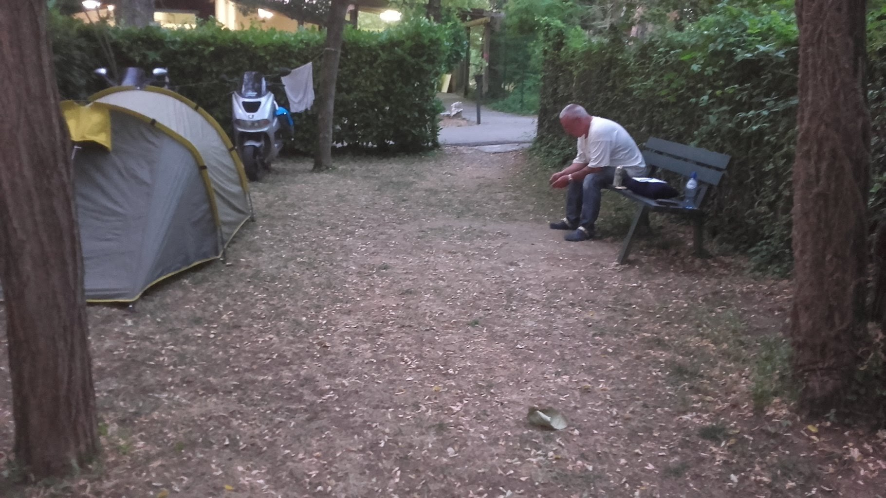 Scooter vakantie rit 2016 River camping